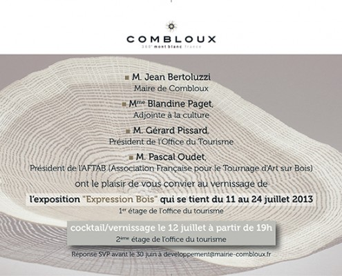 exposition art contemporain combloux