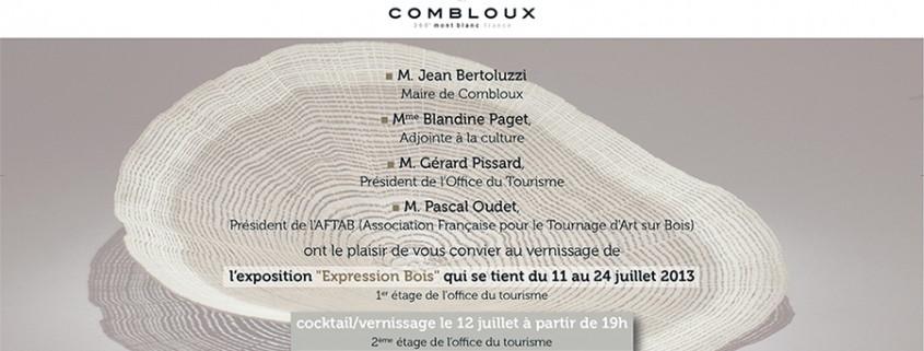 exposition art contemporain combloux